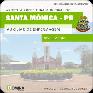 Apostila Pref Santa Mônica PR 2020 Auxiliar de Enfermagem