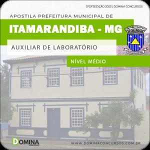 Apostila Pref Itamarandiba MG 2020 Auxiliar de Laboratório