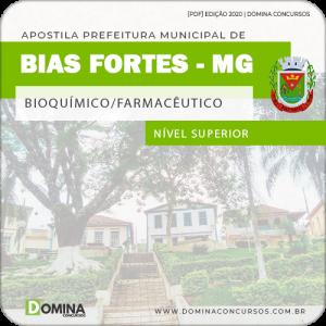 Apostila Pref Bias Fortes MG 2020 Bioquímico Farmacêutico