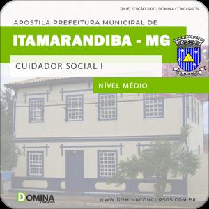 Apostila Pref Itamarandiba MG 2020 Cuidador Social I