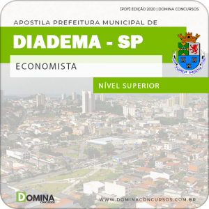 Apostila Concurso Pref de Diadema SP 2020 Economista