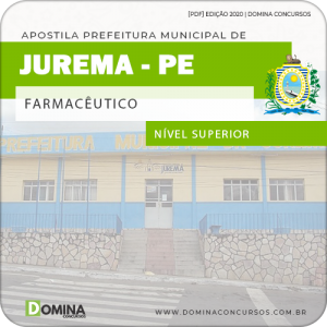 Apostila Concurso Pref Jurema PE 2020 Farmacêutico