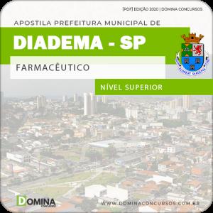Apostila Concurso Pref de Diadema SP 2020 Farmacêutico