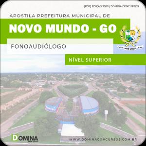 Apostila Concurso Pref Mundo Novo GO 2020 Fonoaudiólogo