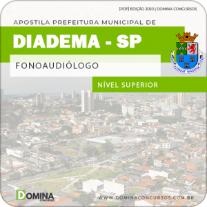 Apostila Concurso Pref de Diadema SP 2020 Fonoaudiólogo