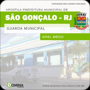 Apostila Concurso Pref São Gonçalo RJ 2020 Guarda Municipal
