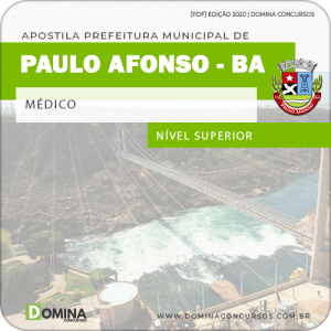Apostila Concurso Pref Paulo Afonso BA 2020 Médico
