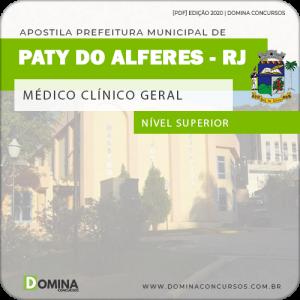 Apostila Pref Paty do Alferes RJ 2020 Médico Clínico Geral