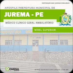 Apostila Pref Jurema PE 2020 Médico Clínico Geral Ambulatório