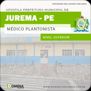 Apostila Concurso Pref Jurema PE 2020 Médico Plantonista