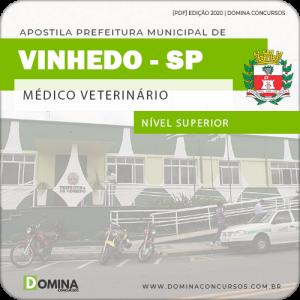 Apostila Concurso Pref Vinhedo SP 2020 Médico Veterinário