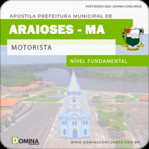 Apostila Concurso Pref Araioses MA 2020 Motorista
