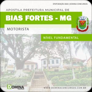 Apostila Concurso Pref Bias Fortes MG 2020 Motorista