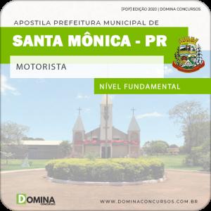 Apostila Concurso Pref Santa Mônica PR 2020 Motorista