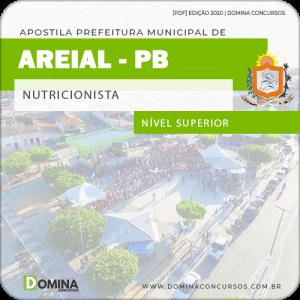 Apostila Concurso Público Pref Areial PB 2020 Nutricionista