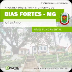 Apostila Concurso Pref Bias Fortes MG 2020 Operário