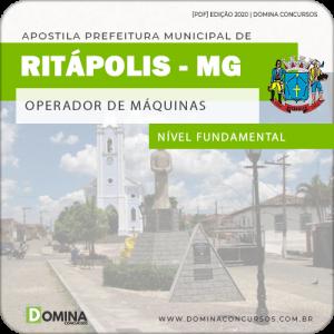 Apostila Pref Ritapólis MG 2020 Operador de Máquinas