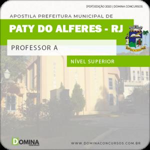 Apostila Concurso Pref Paty do Alferes RJ 2020 Professor A
