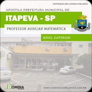 Apostila Pref Itapeva SP 2020 Professor Auxiliar Matemática