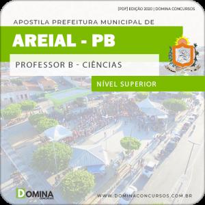 Apostila Concurso Pref Areial PB 2020 Professor B Ciências