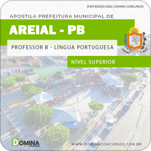 Apostila Pref Areial PB 2020 Professor B Língua Portuguesa