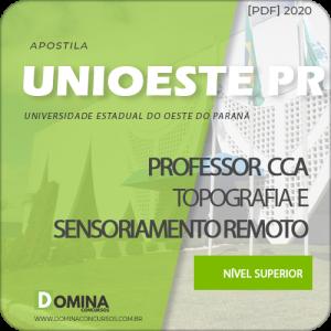Apostila UNIOESTE PR 2020 Professor Topografia Sensoriamento