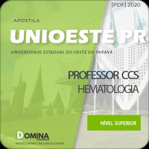Apostila UNIOESTE PR 2020 Professor CCS Hematologia