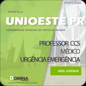 Apostila UNIOESTE PR 2020 Prof CCS Médico Urgência Emergência