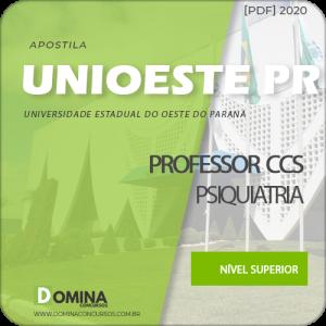 Apostila UNIOESTE PR 2020 Professor CCS Psiquiatria