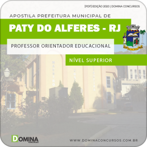 Apostila Pref Paty do Alferes RJ 2020 Prof Orientador Educacional