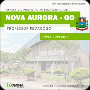 Apostila Pref Nova Aurora GO 2020 Professor Pedagogo