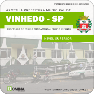 Apostila Concurso Pref Vinhedo SP 2020 Professor Ensino Infantil