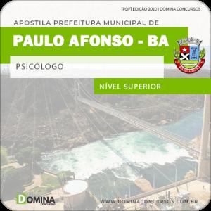 Apostila Concurso Pref Paulo Afonso BA 2020 Psicólogo