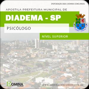 Apostila Concurso Pref de Diadema SP 2020 Psicólogo