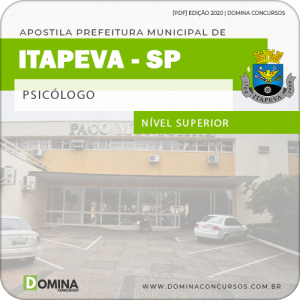 Apostila Concurso Púbico Pref Itapeva SP 2020 Psicólogo