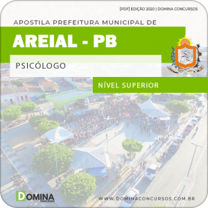 Apostila Concurso Público Pref Areial PB 2020 Psicólogo