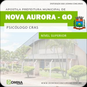 Apostila Pref Nova Aurora GO 2020 Psicólogo CRAS
