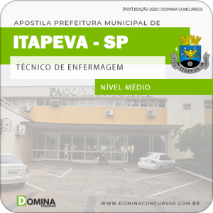 Apostila Concurso Pref Itapeva SP 2020 Técnico de Enfermagem