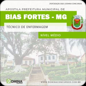 Apostila Pref Bias Fortes MG 2020 Técnico de Enfermagem