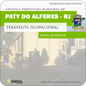 Apostila Pref Paty do Alferes RJ 2020 Terapeuta Ocupacional