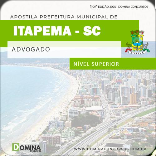 Apostila Concurso Câmara Itapema SC 2020 Advogado