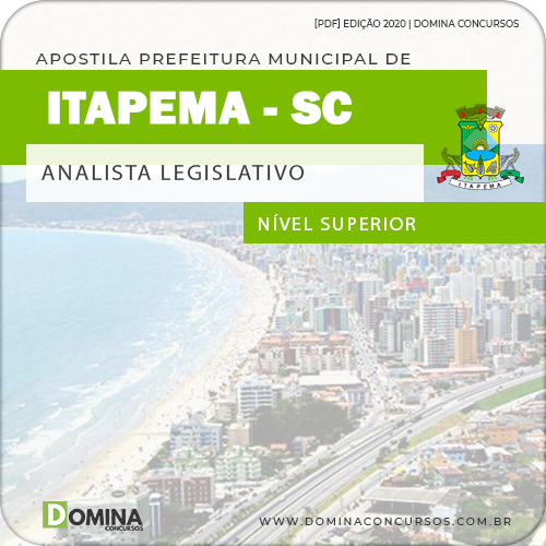 Apostila Concurso Câmara Itapema SC 2020 Analista Legislativo