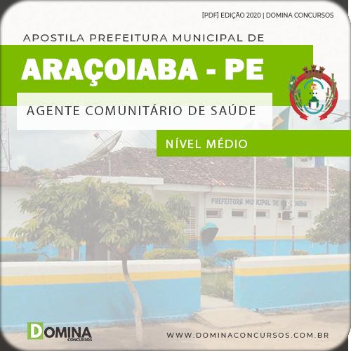 Apostila Pref Araçoiaba PE 2020 Agente Comunitário Saúde