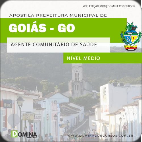 Apostila Pref Goiás GO 2020 Agente Comunitário Saúde