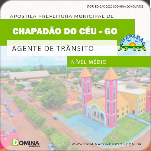 Apostila Pref Chapadão do Céu 2020 Agente de Trânsito