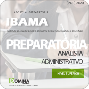 Apostila Concurso IBAMA 2020 Analista Administrativo