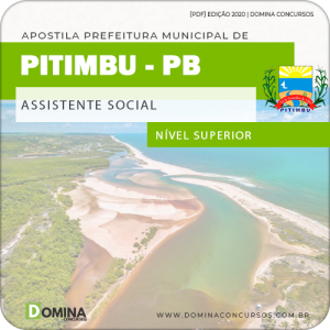 Apostila Concurso Pref Pitimbu PB 2020 Assistente Social