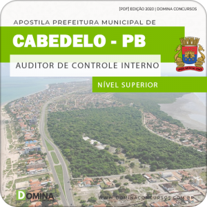 Apostila Pref Cabedelo PB 2020 Auditor de Controle Interno