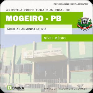 Apostila Concurso Pref Mogeiro PB 2020 Auxiliar Administrativo