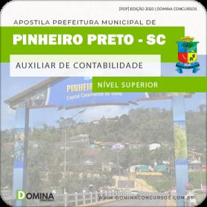 Apostila Pref Pinheiro Preto SC 2020 Auxiliar de Contabilidade